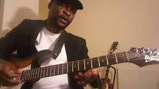 Soukous guitar: Rythm Picking 1