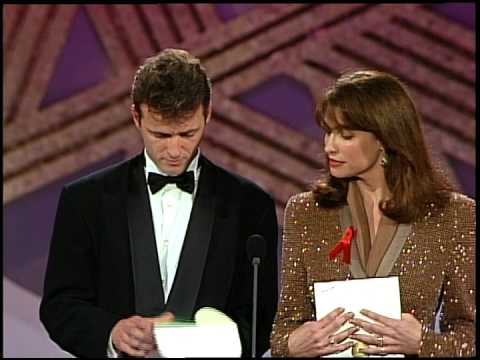 Golden Globes 1992 Judy Davis wins Best Actress in a Mini Series or Motion Picture