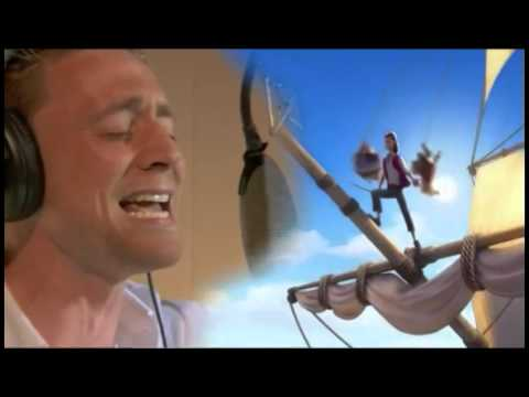 """Tom Hiddleston singing for """"The pirate fairy""""movie"""