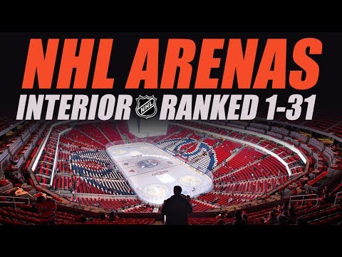 NHL Arenas Ranked 1-31 (Inside)