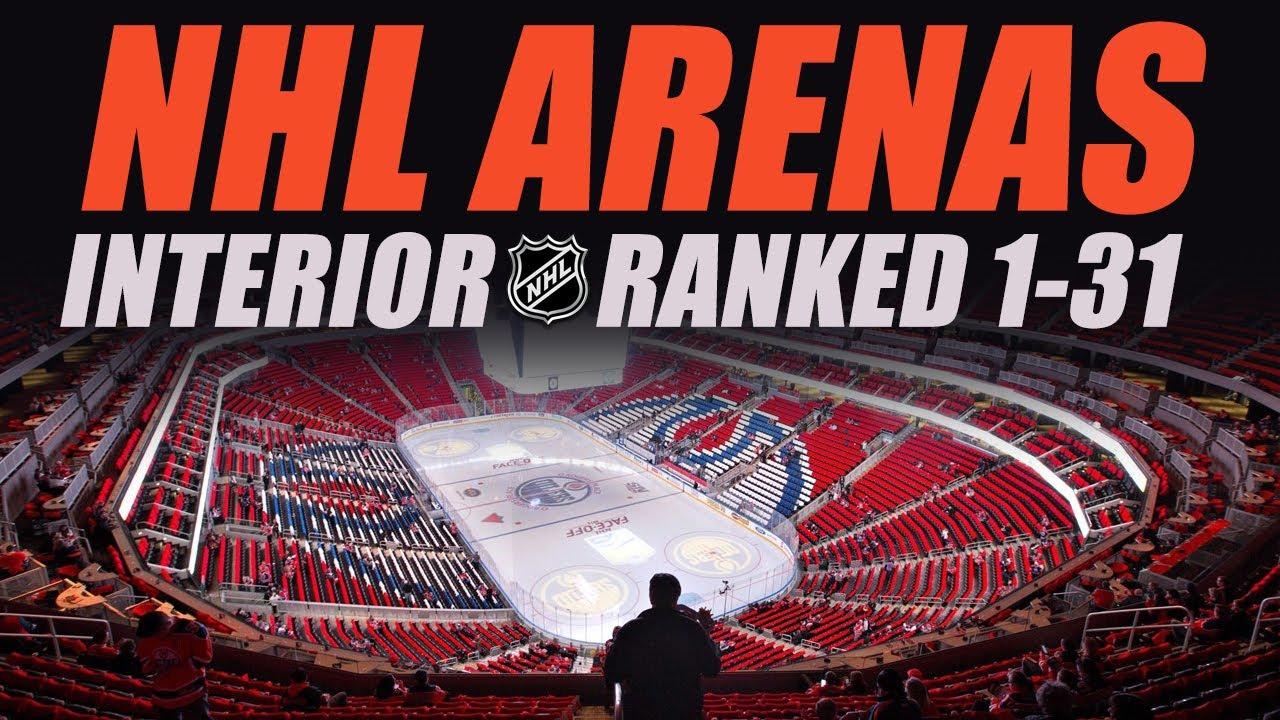 NHL Arenas Ranked 1-31 (Inside) - YouTube 0fe14fe90