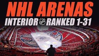NHL Arenas Ranked 1-31 (Inside)