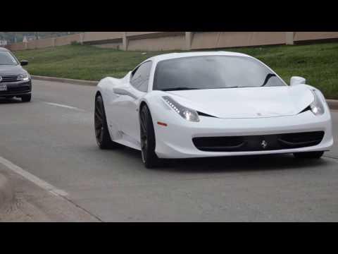Ferrari 458 exotic car rental in Dallas