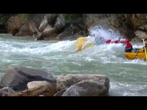The Kicking Horse Challenge Trip - White Water Rafting With Glacier Raft Company In Golden, BC