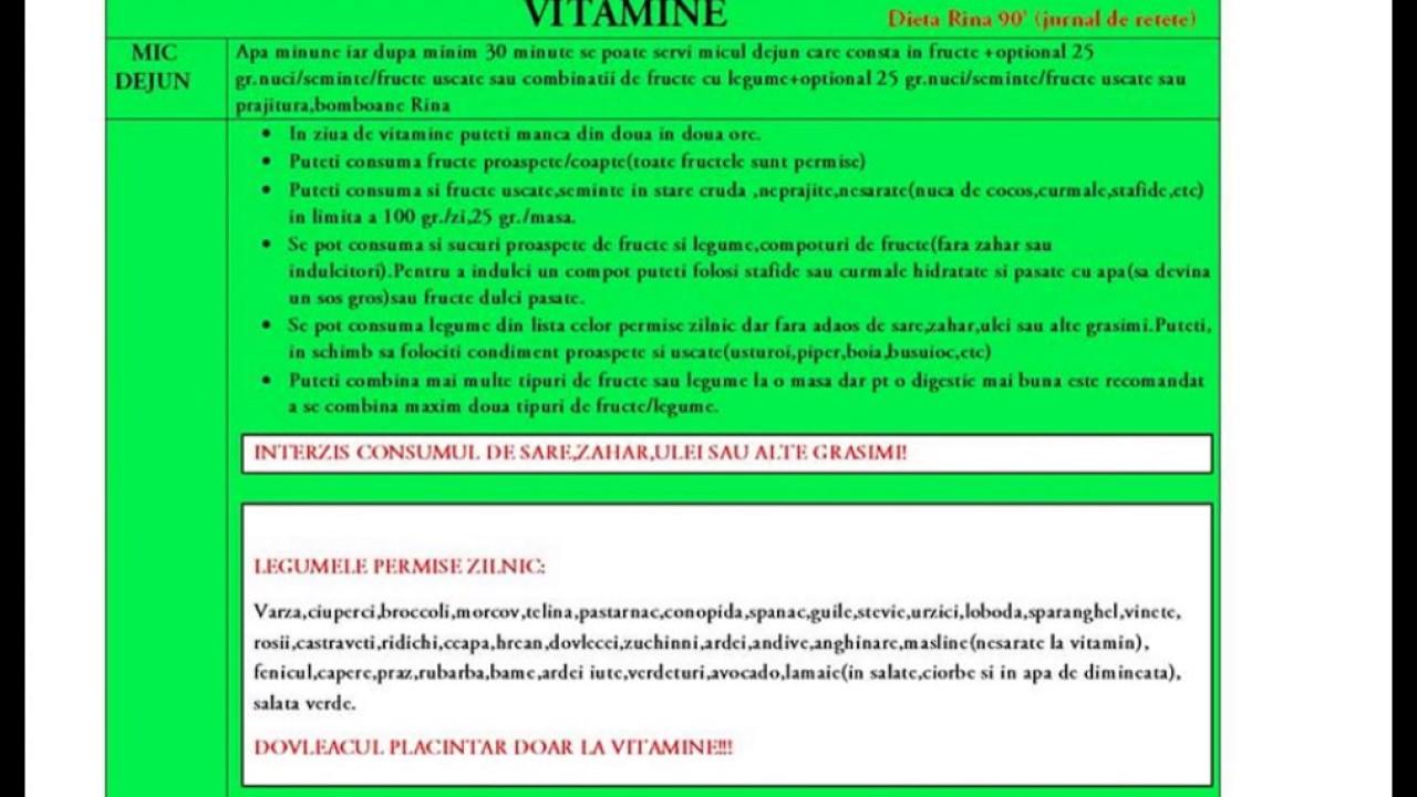 rina 90 retete amidonuri dieta