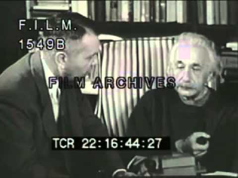 Albert Einstein (stock footage / archival footage)