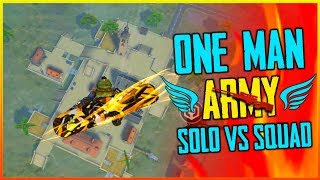Solo vs Squad One Man Army 20Kill Gameplay - Garena Free Fire 2019