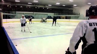 First Day of BTNL ProCamp 2011- HOCKEY TRAINING