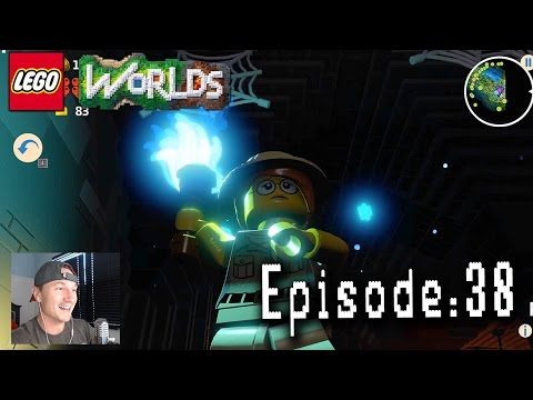 Let's Play Lego Worlds: Episode 38: Sheila Explores a Dungeon!