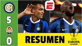 Inter Milan 5-0 Shakhtar | Resumen UEL | Lautaro y Lukaku se meten en la final de la Europa League
