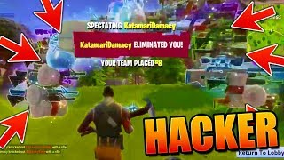 Fortnite Battle Royale HACKERS !!!!