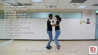 Beginner Bachata Routine (Count)
