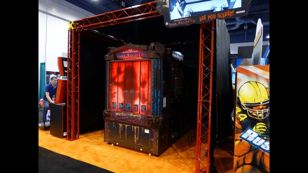 Dark Escape 4d By Namco Amusement Expo 2013 Youtube