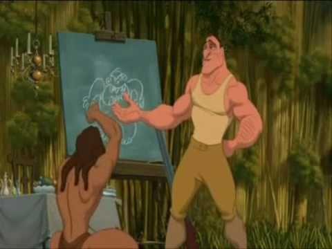 Tarzan gorilla ita youtube