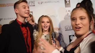 Presley Hosbach and Brady Farrar Interview at High Strung: Free Dance Los Angeles Premiere