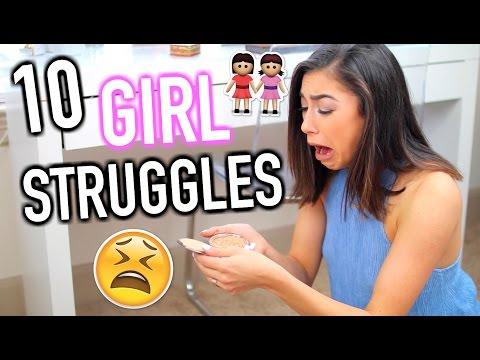 10 ULTIMATE Girl Struggles   Jeanine Amapola