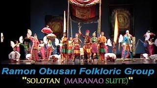 "PASINAYA 2014 - Ramon Obusan Folkloric Group ""Solotan (Maranao Suite)"""