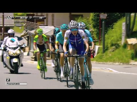 Bardet, Fuglsang and Dan Martin in pursuit  - Stage 8 - Critérium du Dauphiné 2017