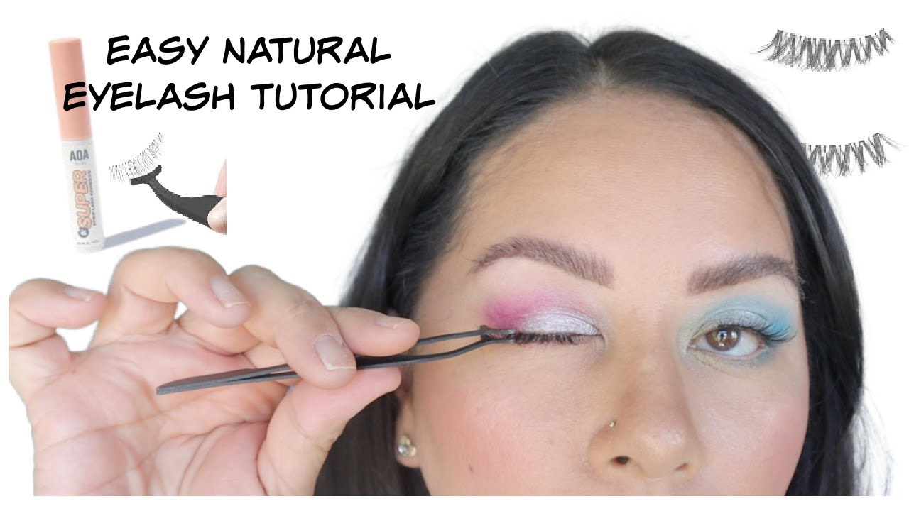 EASY Step by Step Lash Tutorial | How to Apply Lashes for Beginners