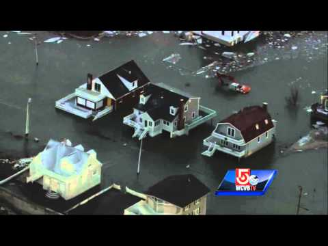 Uncut: Water floods parts of Scituate