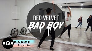 """Red Velvet """"Bad Boy"""" Dance Tutorial (Chorus)"""