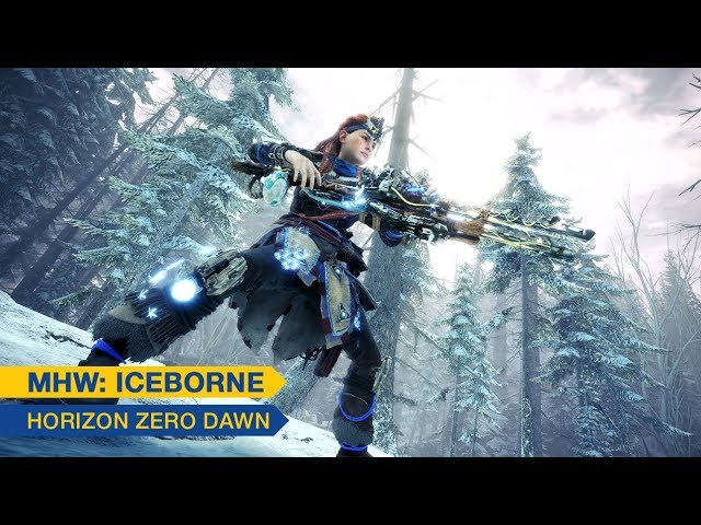[Monster Hunter World: Iceborne] - Horizon Zero Dawn - PS4