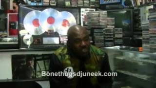 Bone Thugs DJ U-Neek Plays Art Of War/WW3 and Bankroll Music new projects