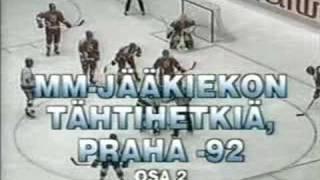 MM 1992 Huippuhetket - IHWC 1992 Highlights