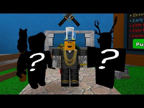 YOUTUBER ONLY ROBLOX MURDER MYSTERY 2!