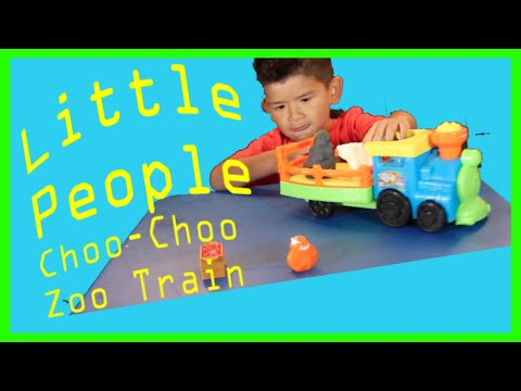 Unboxing Little People Choo-Choo  Zoo Train//Fun Videos for Kids