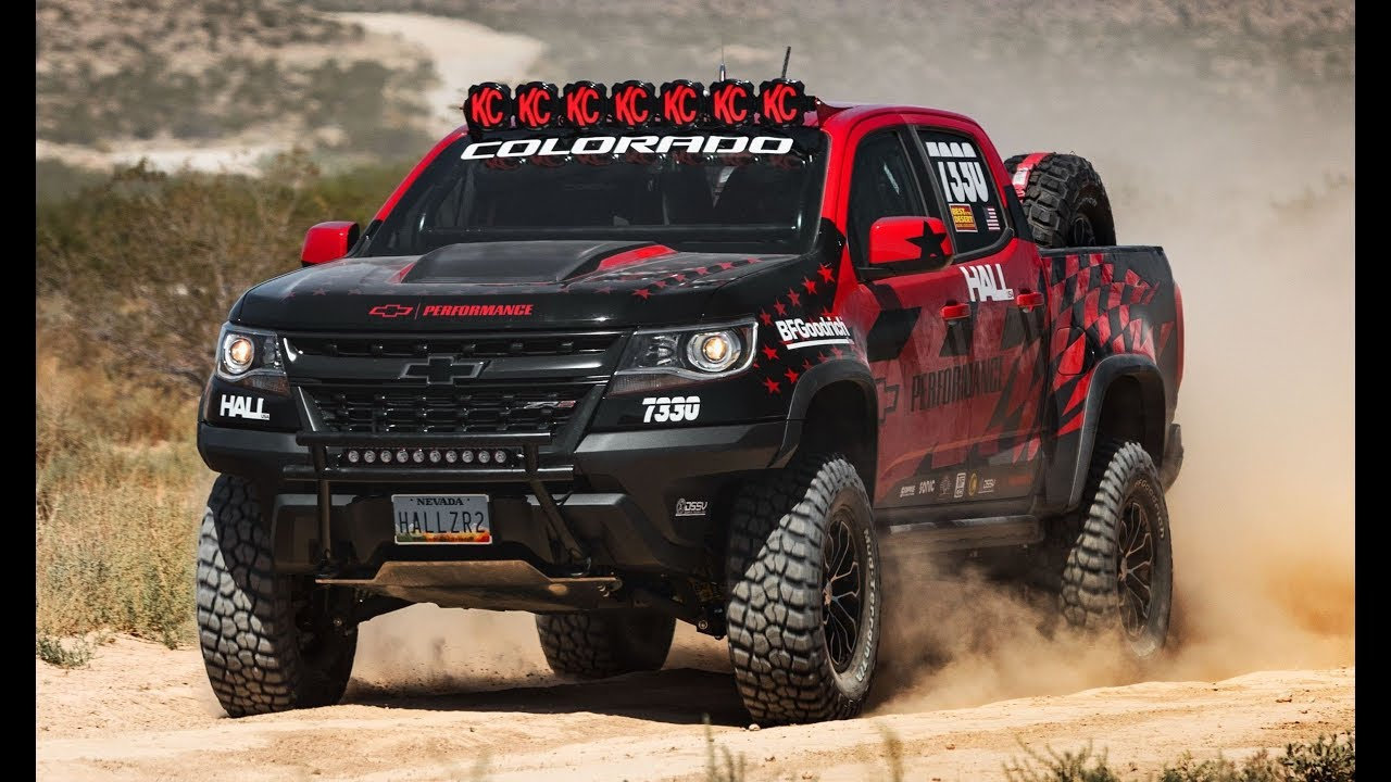 2017 Chevrolet Colorado ZR2 Hall Racing - YouTube