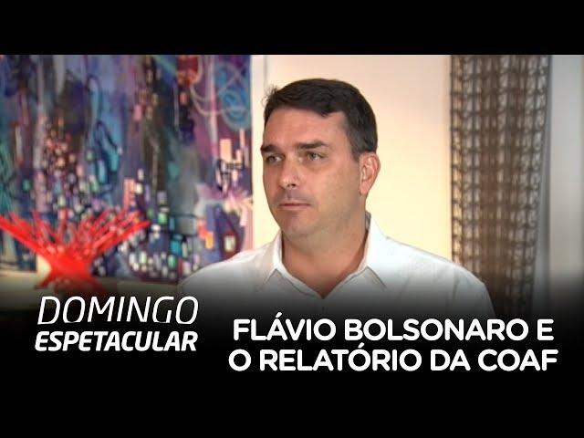 Exclusivo: Flávio Bolsonaro fala pela primeira vez sobre o relatório do Coaf