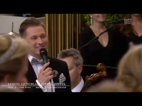 Joyful, Joyful - Samuel Ljungblahd (LIVE Royal Wedding of Prince Carl Philip and Sofia 2015)
