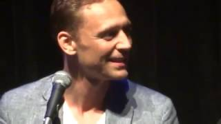 Tom Hiddleston andGuillermo del Toro  Podcast at SDCC2015