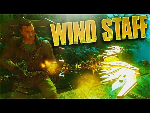 HOW TO BUILD THE WIND STAFF + *Boreas' Fury* UPGRADE TUTORIAL! ORIGINS REMASTERED ZOMBIES CHRONICLES