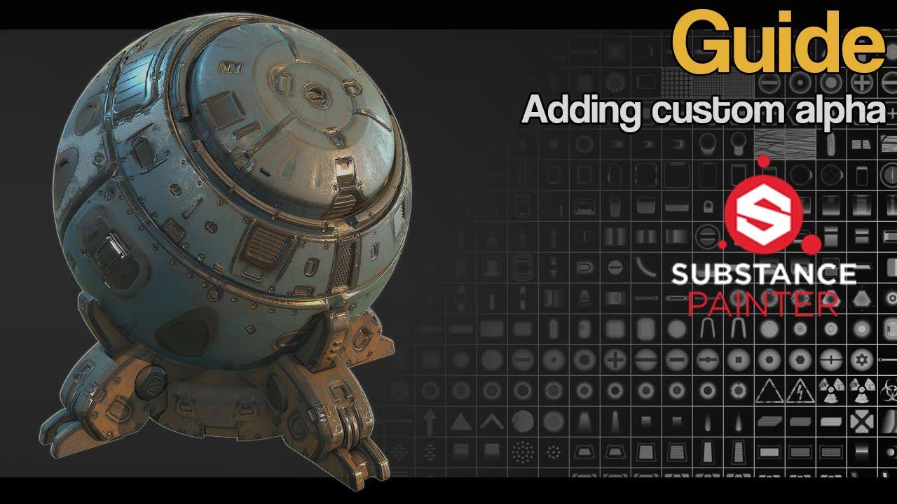 Substance Painter - Adding Custom Alpha