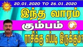 Weekly Rasipalan KUMBAM   Jan - 20 To 26   வார ராசிபலன்  Vara Rasipalan   kadavul arul tv