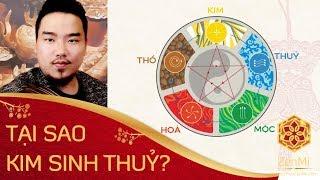 Bí Mật: Tại Sao Kim Sinh Thuỷ Dưới Góc Nhìn Bí Truyền Của ZenMi | Bối Cảnh Lịch Sử Thuyết Ngũ Hành