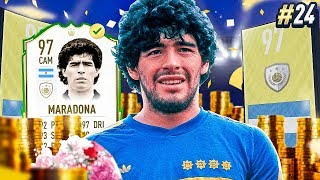 BUYING THE 97 PRIME DIEGO MARADONA FOR 5 MILLION?! PRIME R9??? #24 MMT
