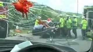 Accidente automovilístico por uso de teléfono celular (móvil)