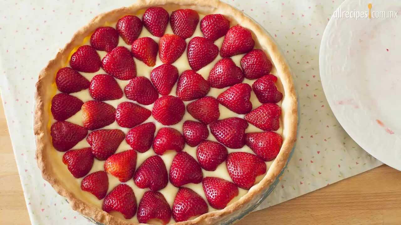 Como Decorar Tarta De Gelatina De Fresa