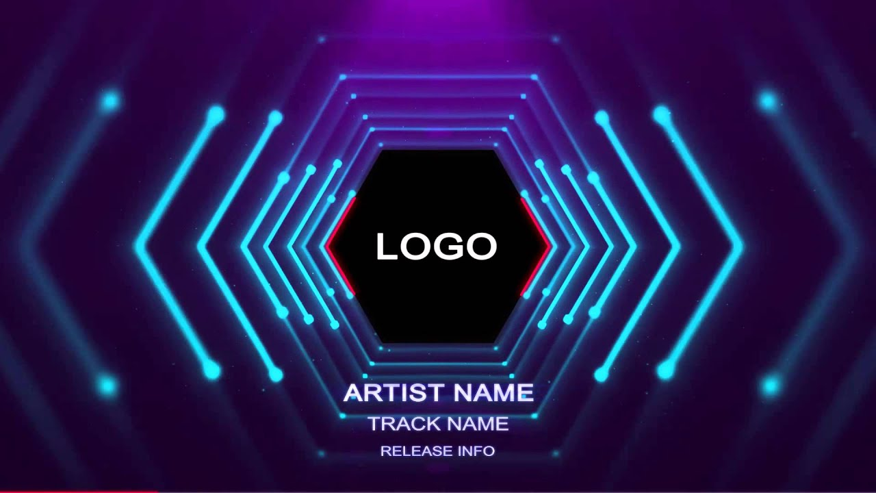 3d Animation Wallpaper For Pc Download Hexagonal 3d Audio Reactive Tunnel Free Template