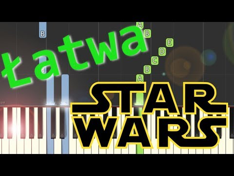 🎹 Marsz imperialny (Marsz Dartha Vadera) - Piano Tutorial (łatwa wersja) (EASY) 🎹