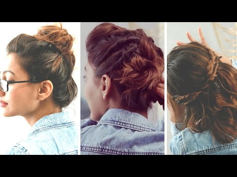 3 Quick And Easy Hairstyles For Short Hair