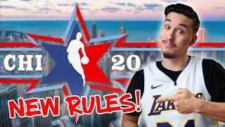NEW RULES For The 2020 NBA All-Star Game!