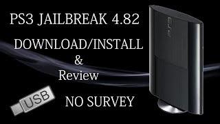 PS3 Jailbreak 4.82 Download and Install No Survey - USB CFW