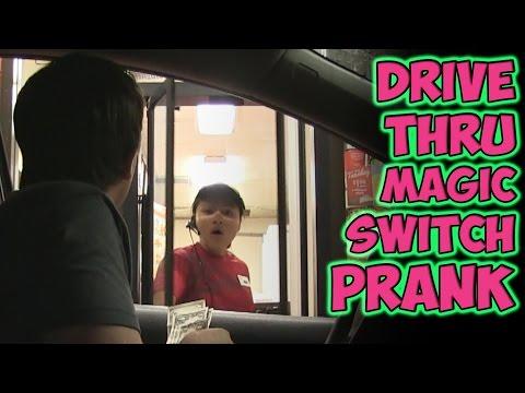Drive Thru Magic Switch Prank