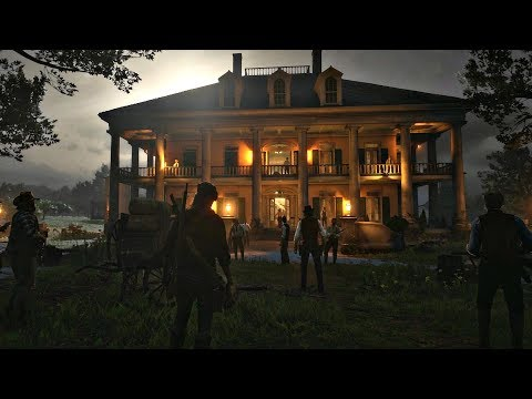 Red Dead Redemption 2 - Whole Clan Battle To Save Jack Marston (John Marston's Son) RDR2 PS4 Pro