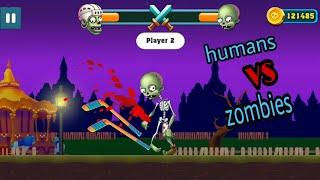 Humans vs Blades : Bowmasters Gameplay