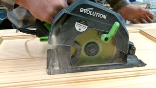 A look at the  2019 Evolution F165CCSL Circular Saw